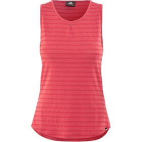 Mountain Equipment Equinox Vest Dame poppy stripe